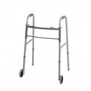 Walker with 2 wheels